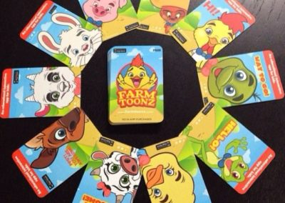 FarmToonz Promotional Cards